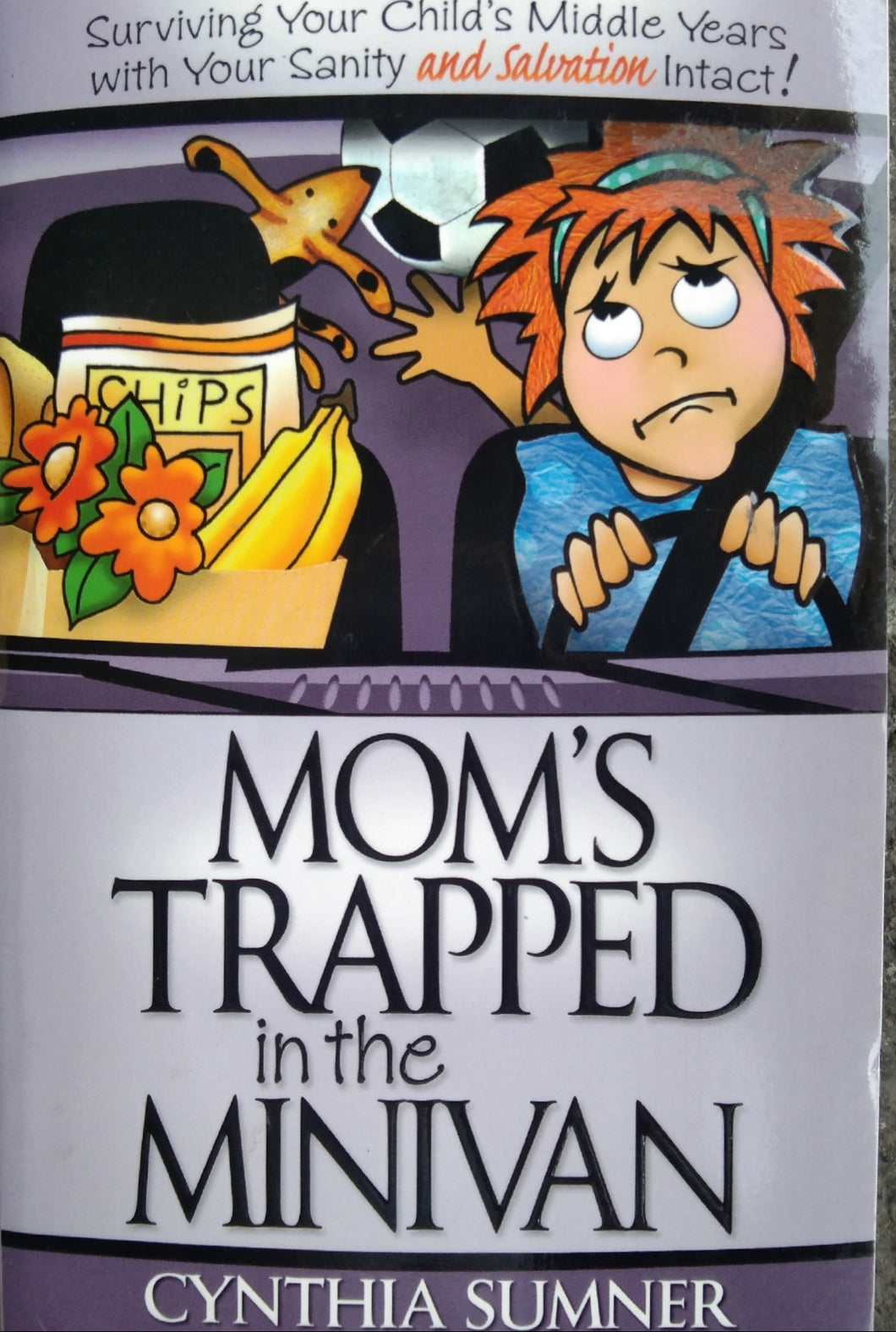 Mom's Trap in the Minivan by Cynthia Sumner