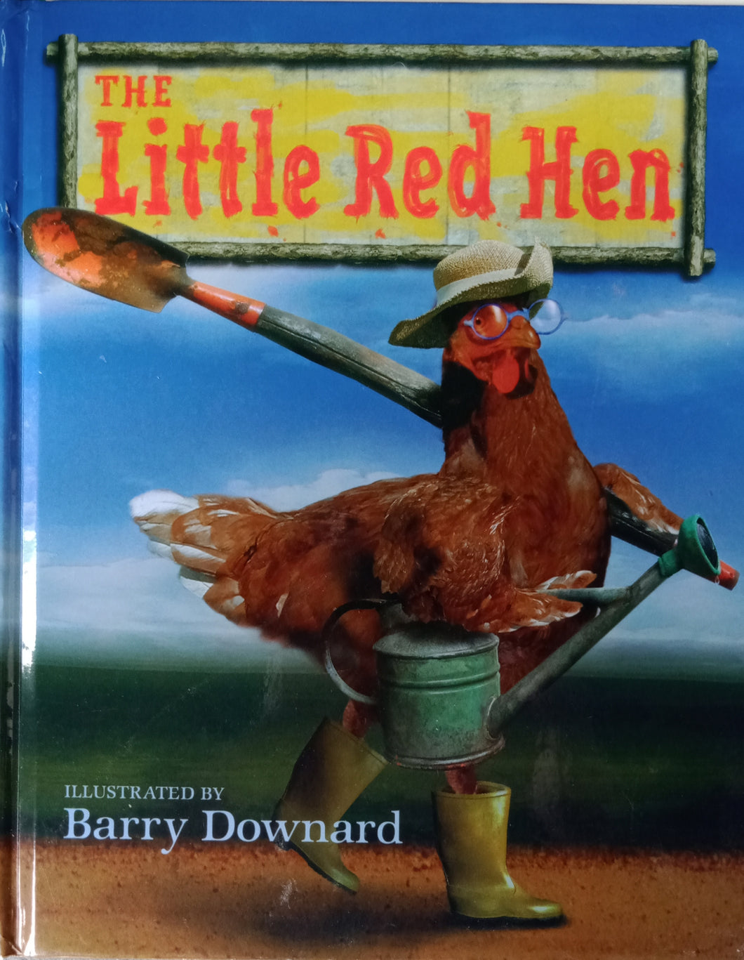 The Little Red Hen by Barry Downward