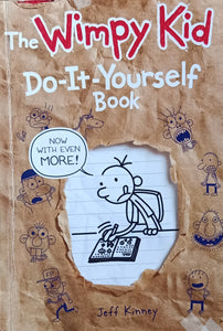 The Wimpy Kid Do-It Your Self Book by Jeff Kinney