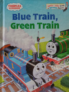 Blue Train, Green Train by Tommy Stubs