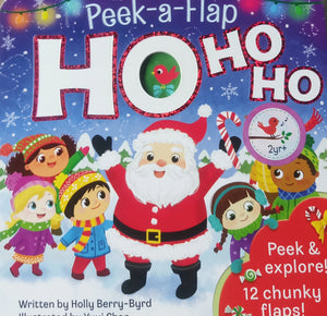 Peek-A-Flap Hohoho by Holly Berry-Byrd