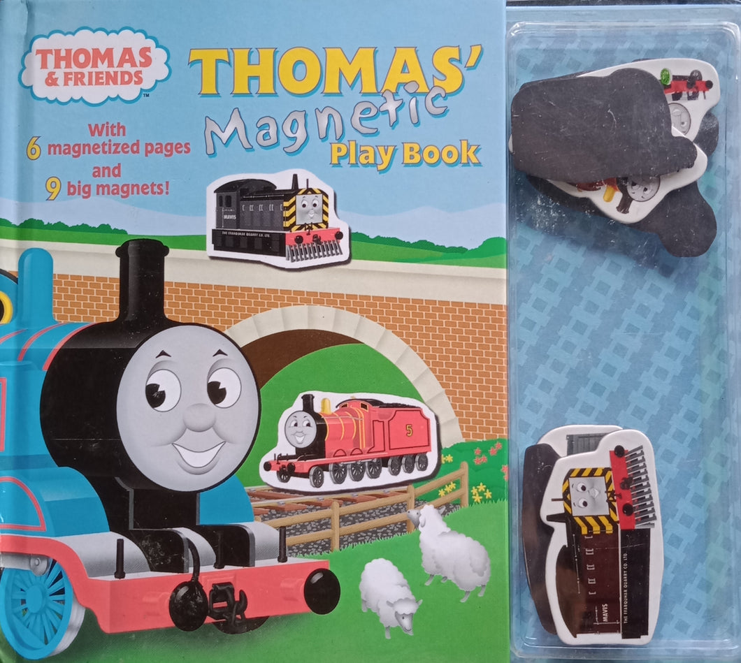 Thomas Magnetic Play Book