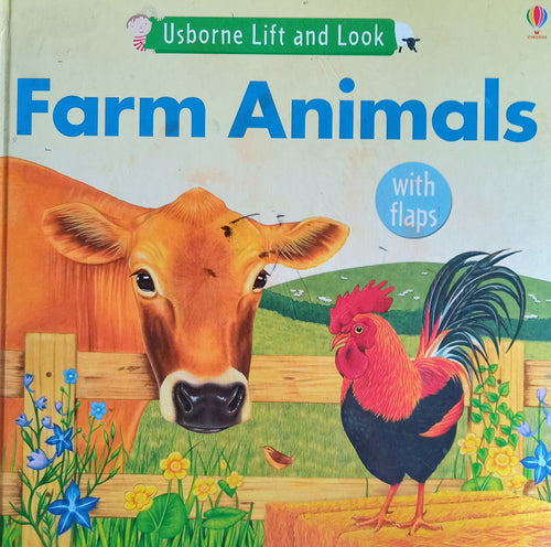 Usborne Lift And Look : Farm Animals