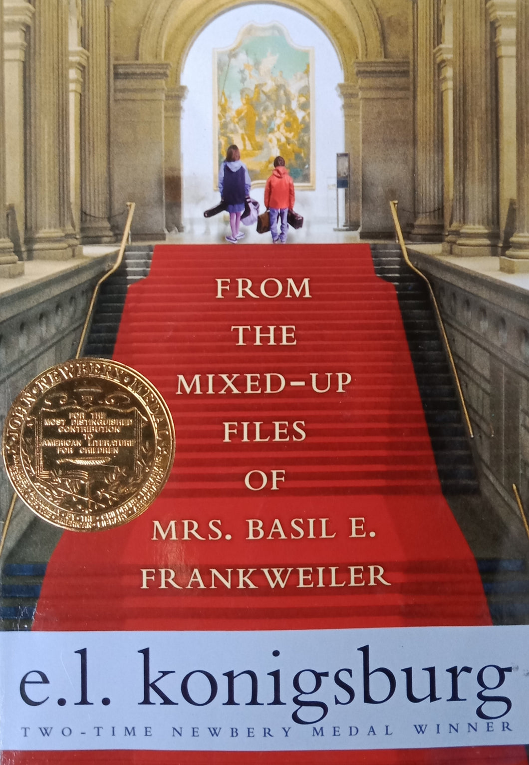 From the Mixed Up File of Mrs.Basil E. Frankweiler by e.l. Koningsburg