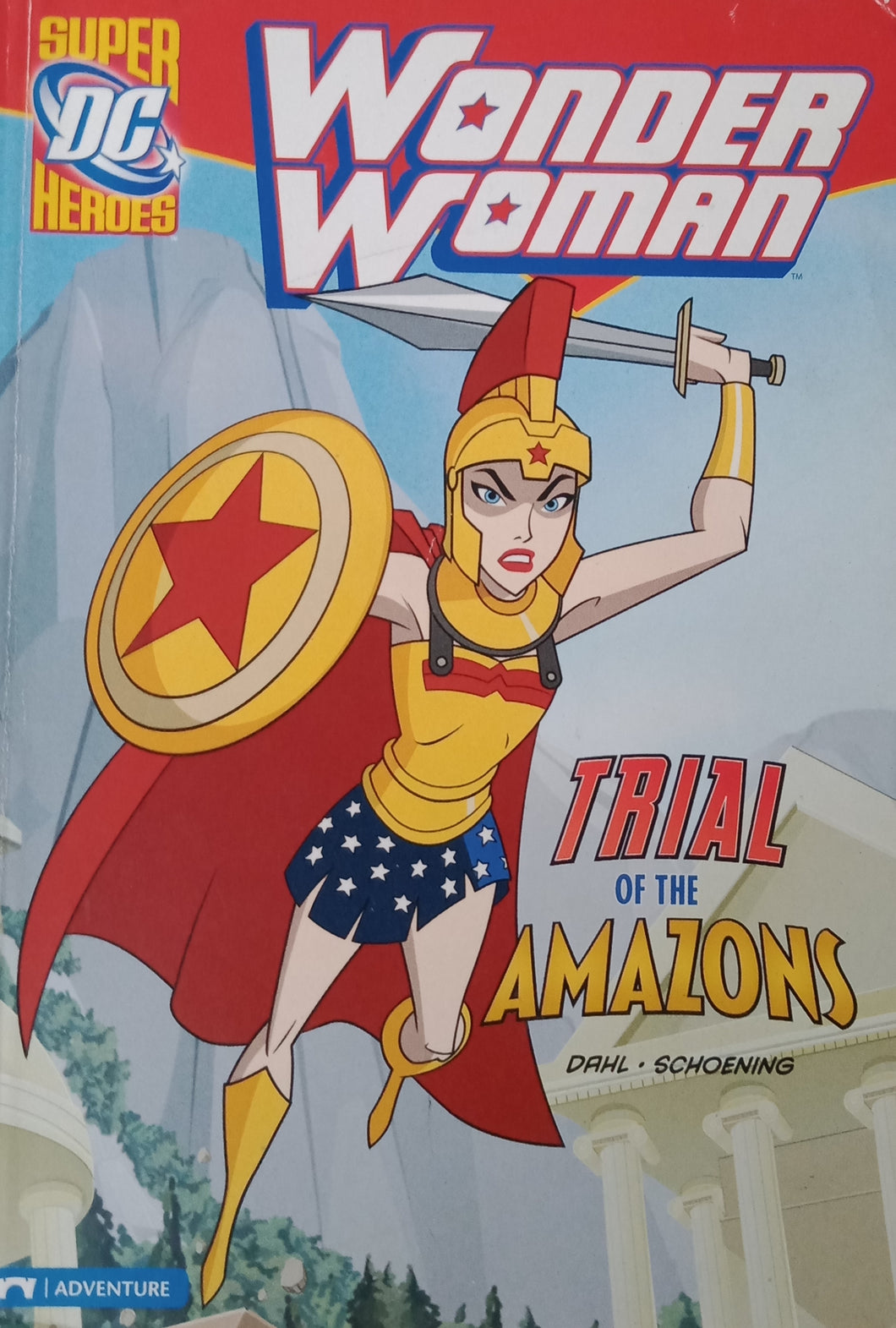 Wonder Woman Trial Of The Amazon