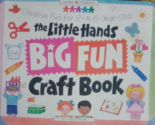 Little Hands Big Fun Craft Book : Creative Fun for 2 to 6 yrs. Old