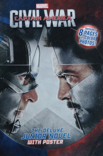 Marvel Civil War Captain America The Deluxe Junior Novel With Poster