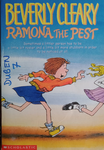 Ramona The Past by Beverly Cleary