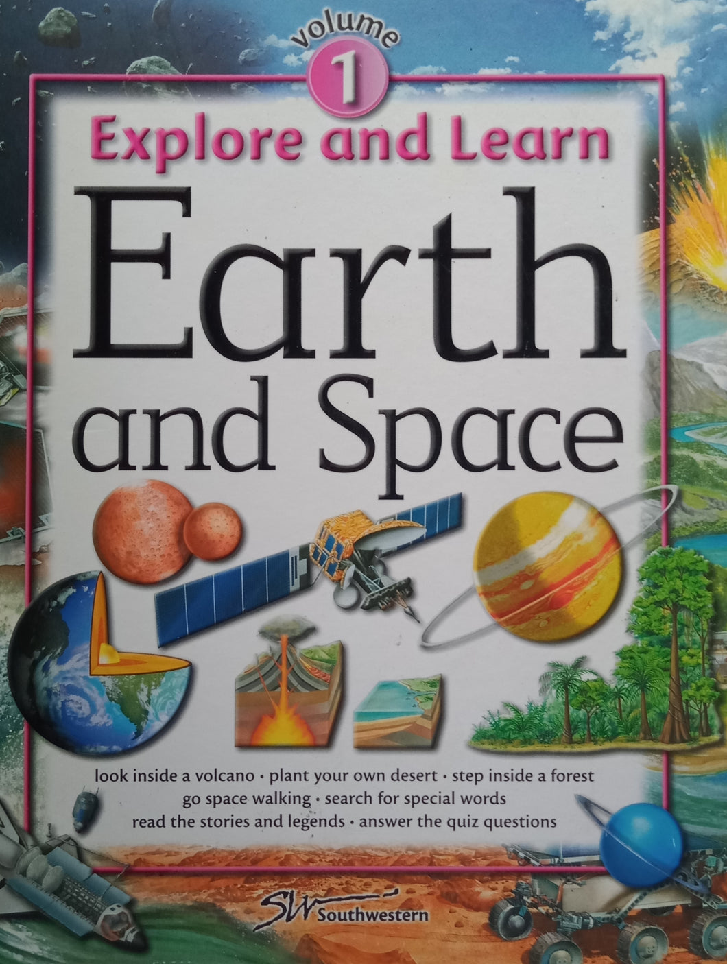Explore And Lerab Earth And Space Volume 1