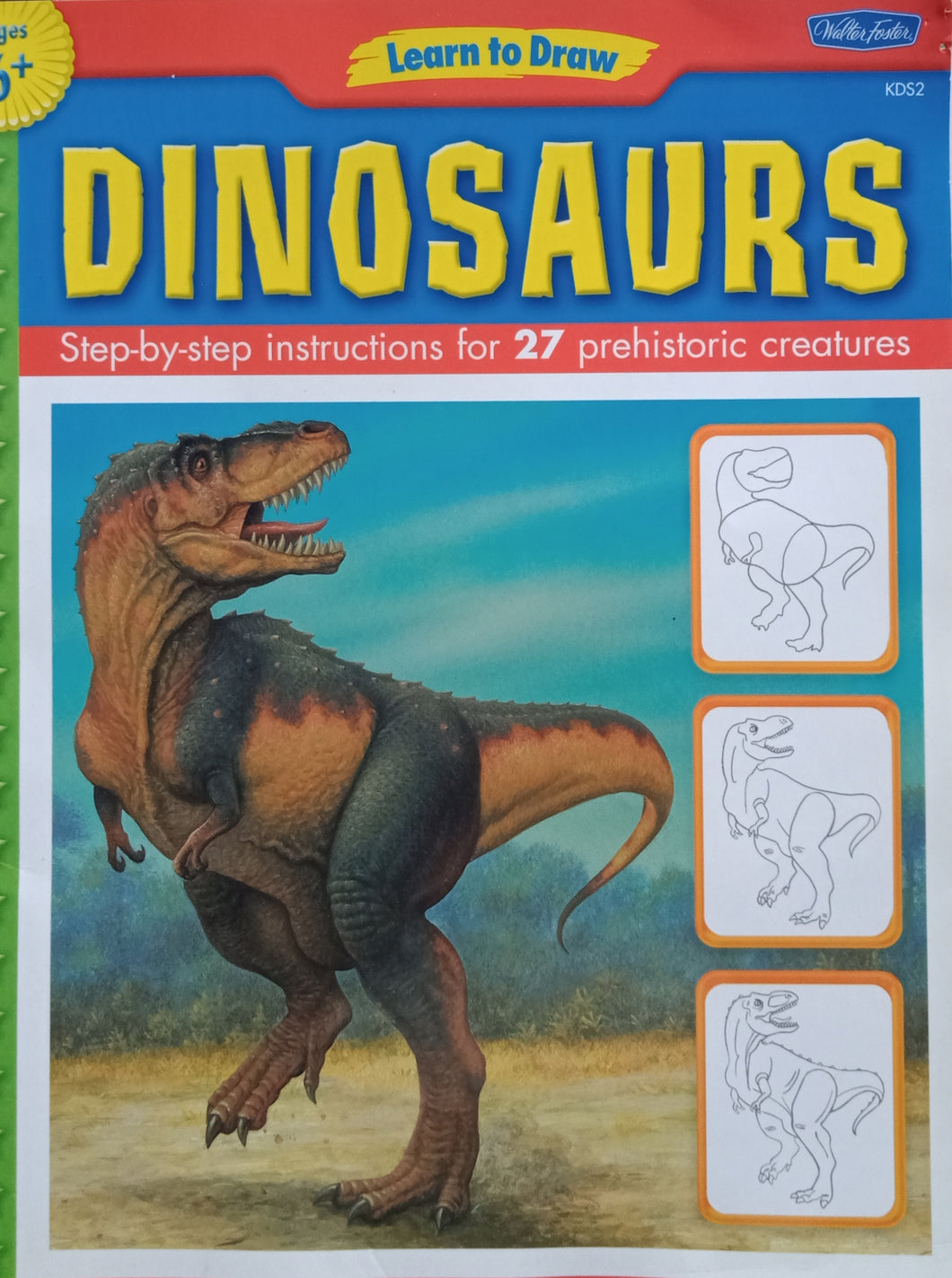 Learn To Draw : Dinosaurs