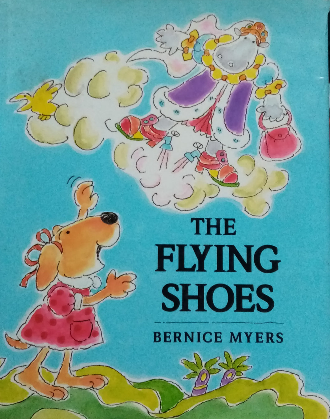 The Flying Shoes by Bernice Myers