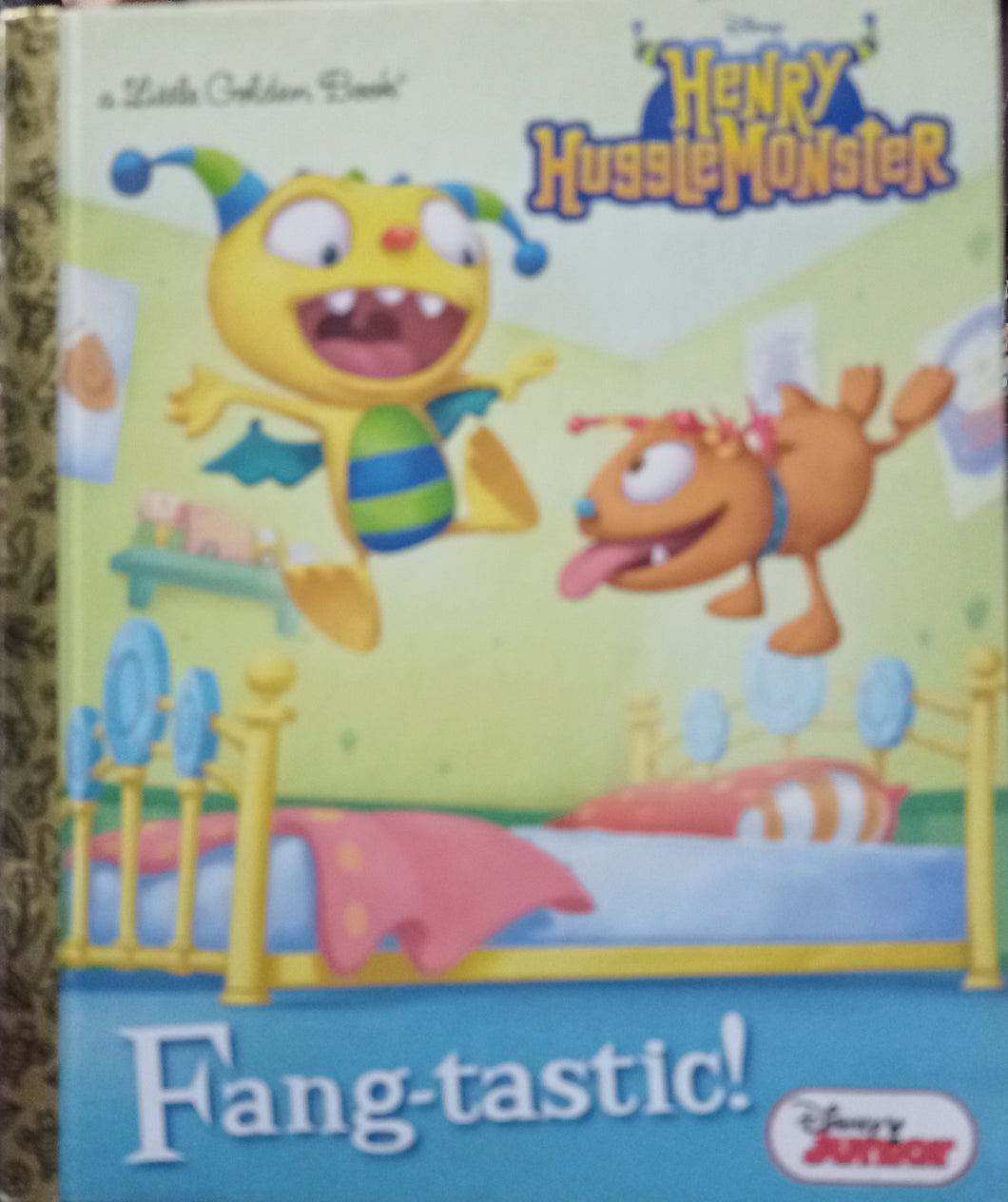 a little Golden Book Henry HuggleMonster Fang-tastic!