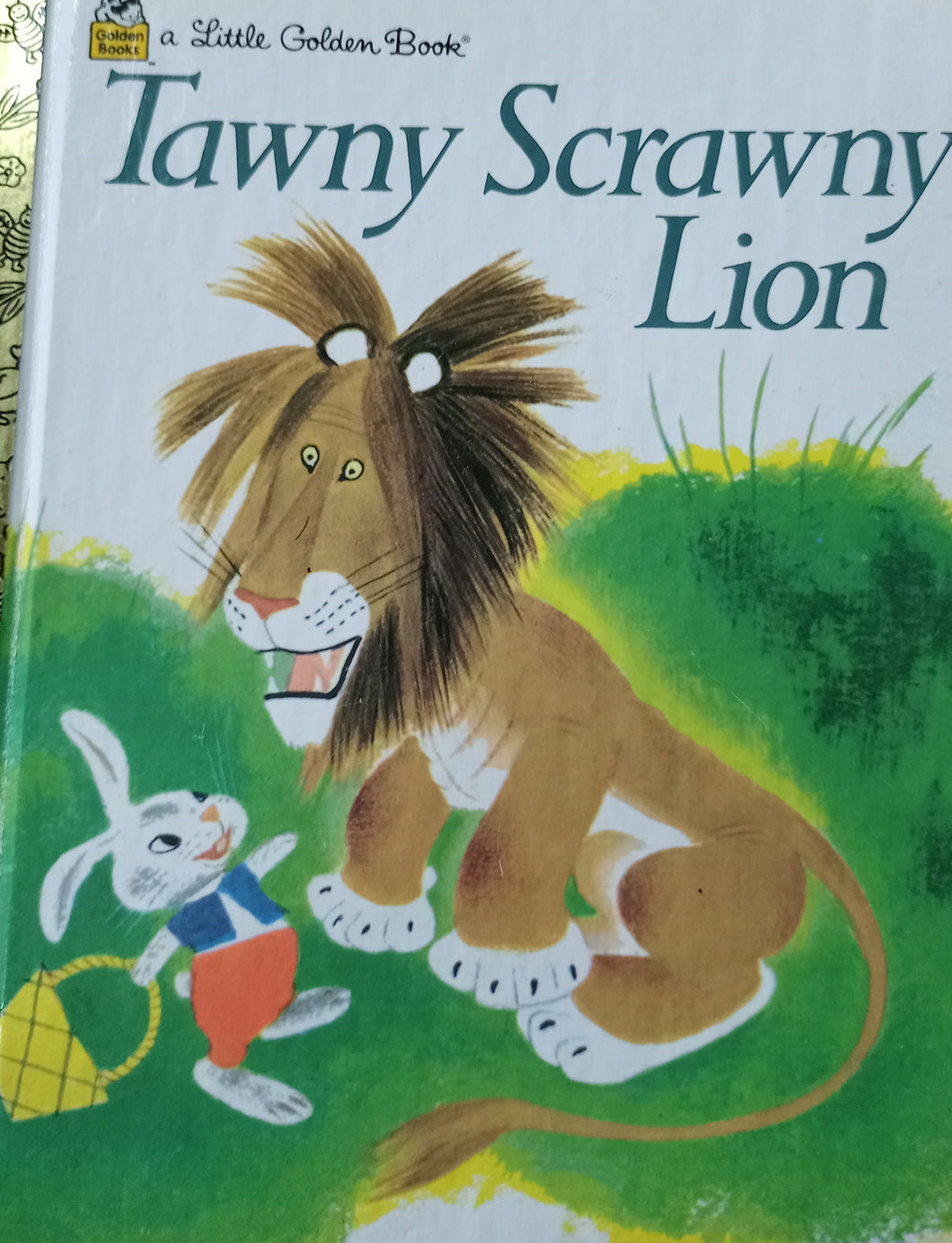 A little golden book Tawny Scrawny Lion