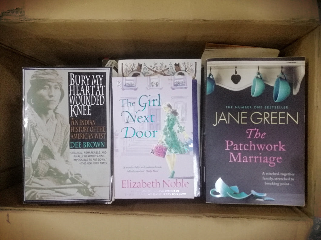 Large/mass paperback assorted titles(2C)