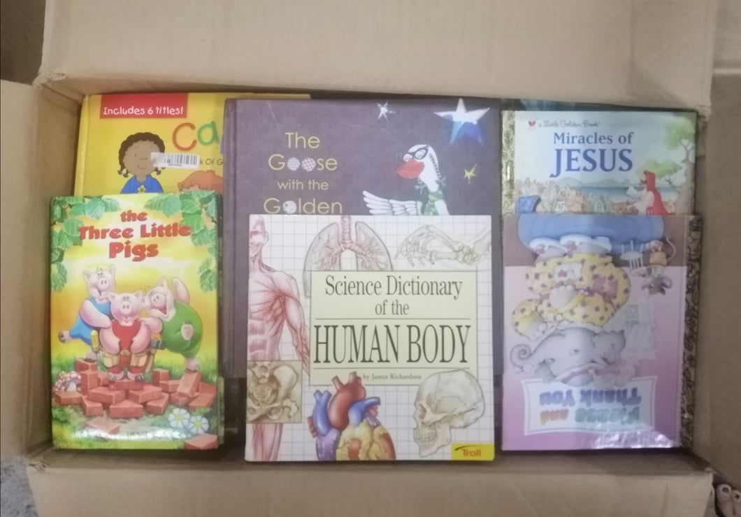 Childrens book Assorted titles(4C)