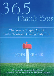 365 Thank You by John Kralik