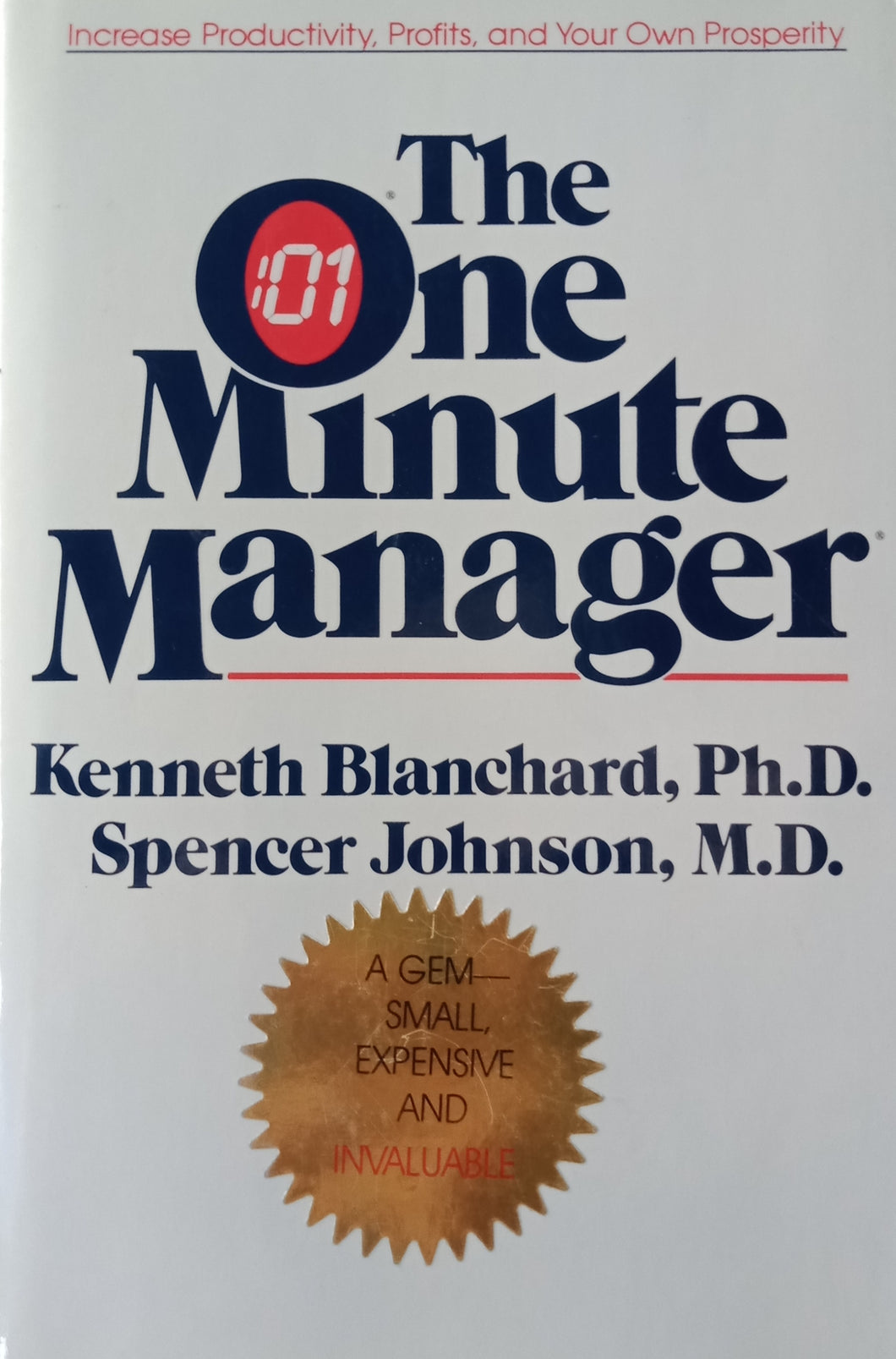 The One Minute Manager by Kenneth Blanchard