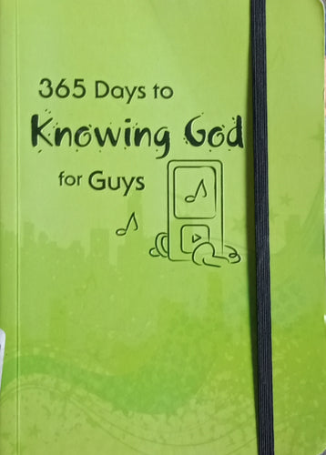 365 Daya To Knowing God For Guys