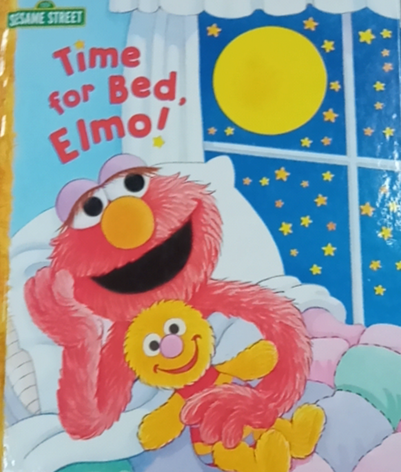 Time To Bed Elmo