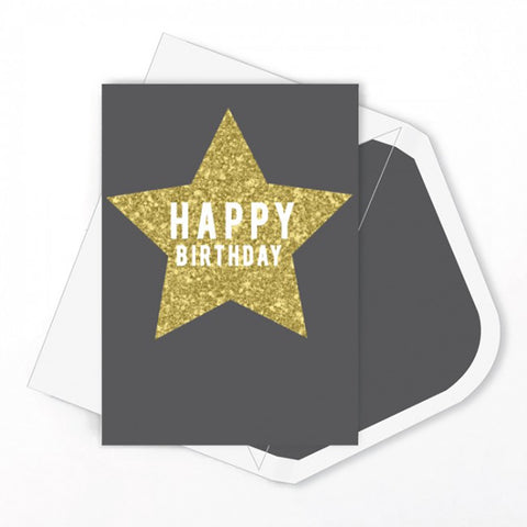 Candle Bark Creations | Star Dust Glitter Birthday Gift Card