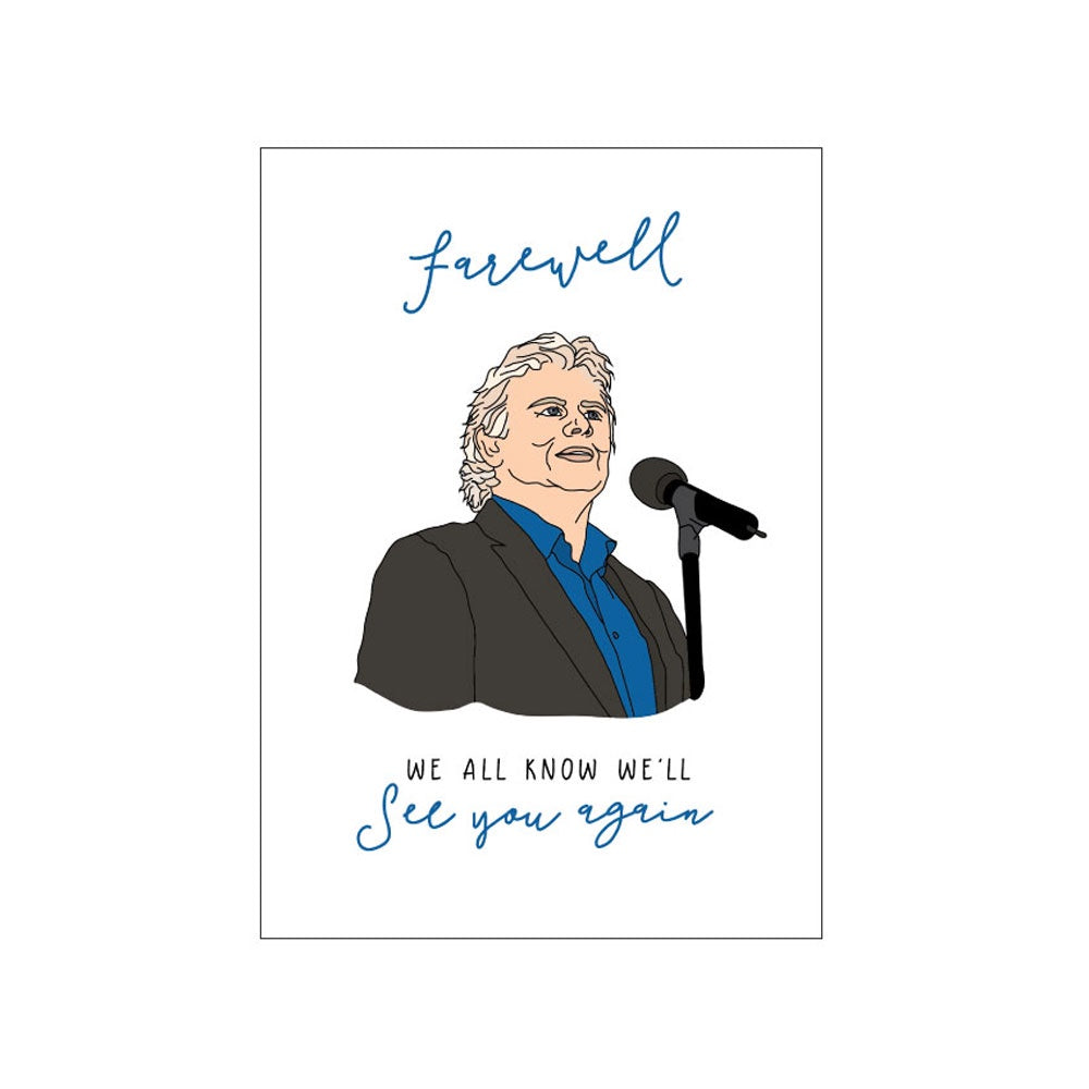 Candle Bark Creations | John Farnham Farewell Gift Card