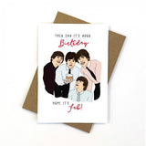 Candle Bark Creations | Beatles Birthday Gift Card