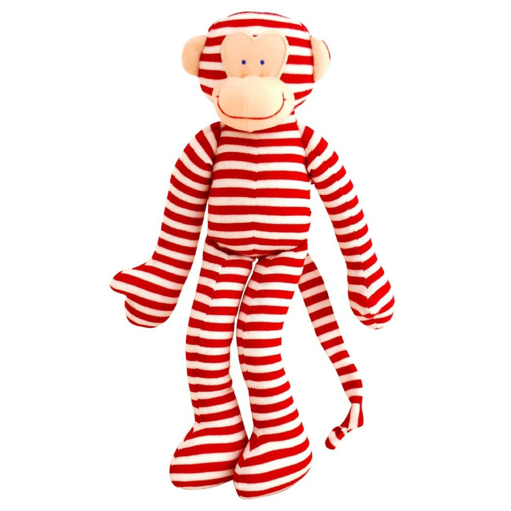 Alimrose | Monkey Rattle in Red Stripe