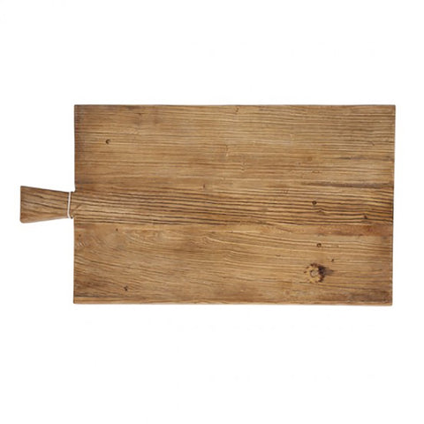Ivory House | Large Rectangle Wooden Serving Cheese Chopping Board with Handle