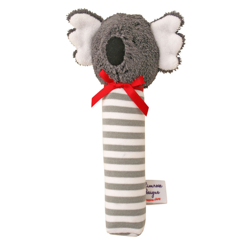 Alimrose | Koala Squeaker in Grey Stripe