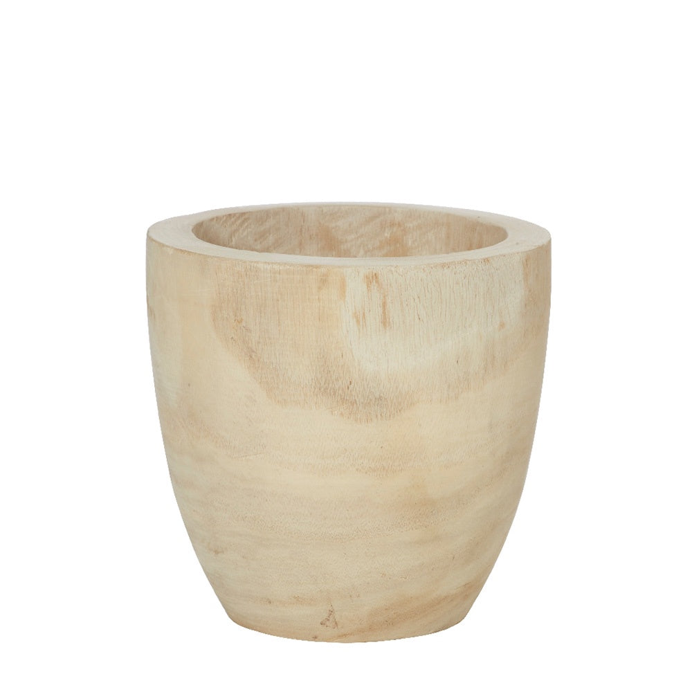 Rogue | Dansk Natural Wooden Planter Pot 17cm