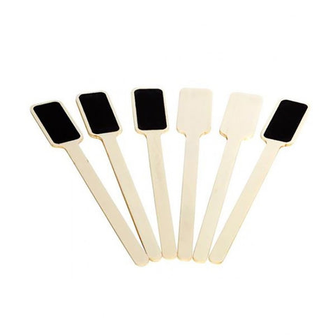 Ivory House | Blackboard Herb Garden Stakes Set of 6