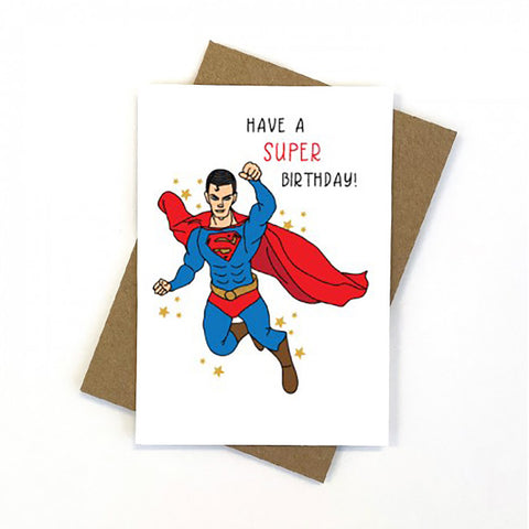 Candle Bark Creations | Superman Birthday Gift Card