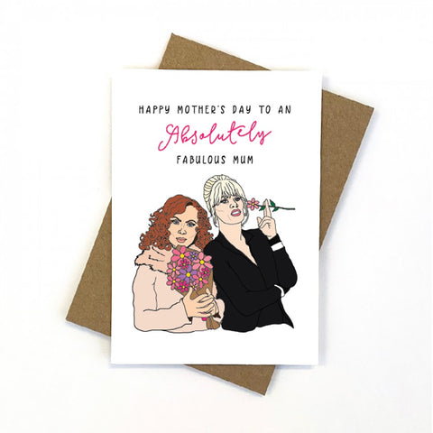 Ab Fab Mother's Day Gift Card