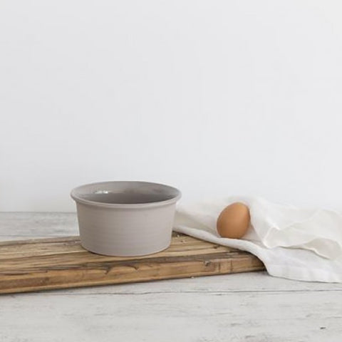 Ivory House | Flax Ceramic Ramekin Bowl in Grey