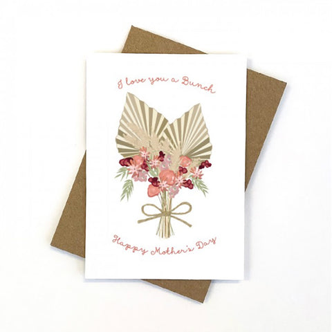 Flower Bunch Mother's Day Gift Card
