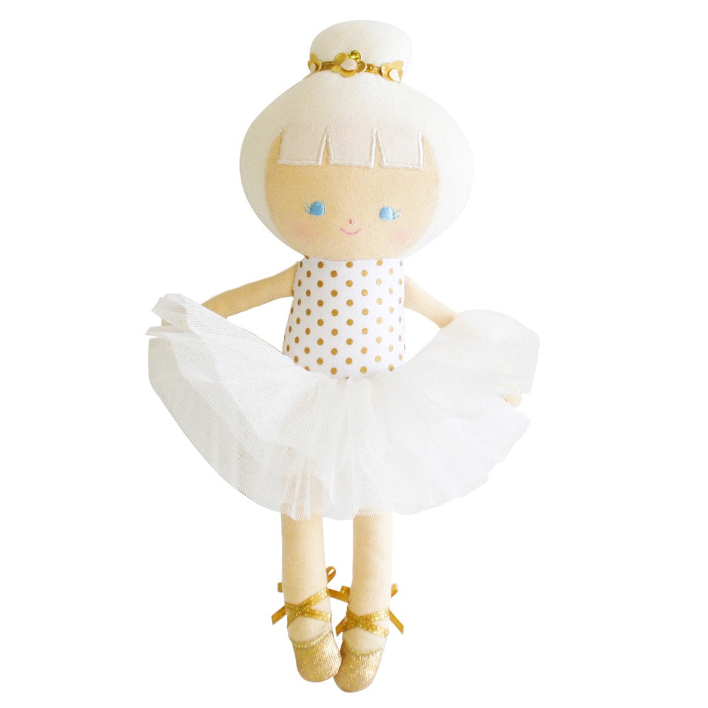 Alimrose Designs | Baby Ballerina Doll in Gold Spot