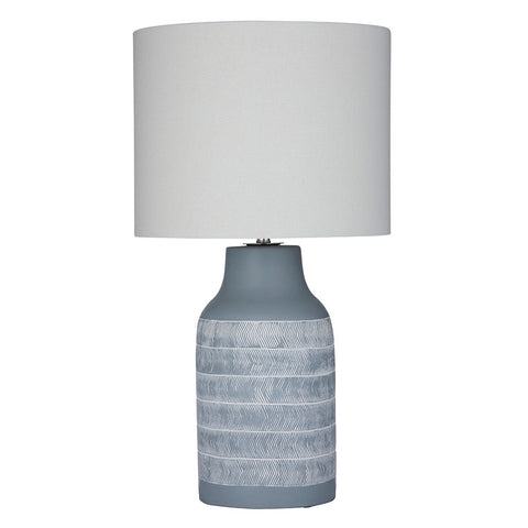 Amalfi | Dover Ceramic & Linen Table Lamp