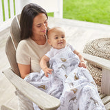 aden + anais | Classic Cotton Baby Swaddles 4pk in Jungle Print