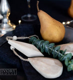 Ivory House | Timber Drop Christmas Decoration
