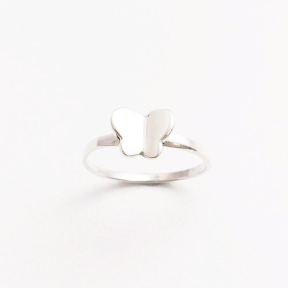 123home | Sterling Silver Butterfly Ring
