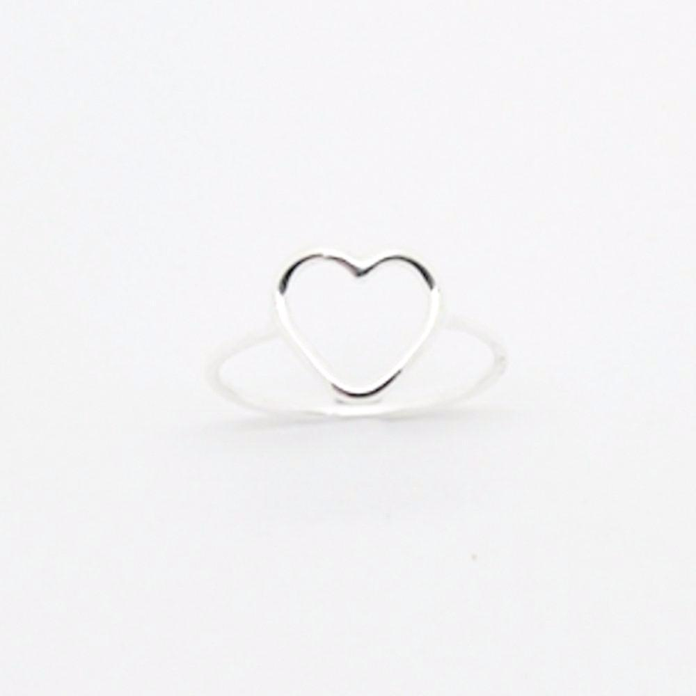 123home | Sterling Silver Heart Ring