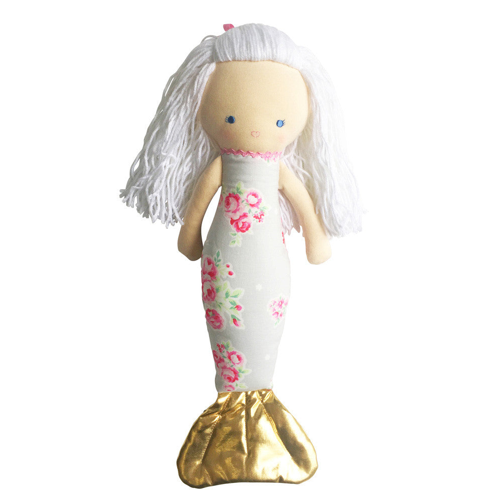 Alimrose | Mermaid Doll in Grey