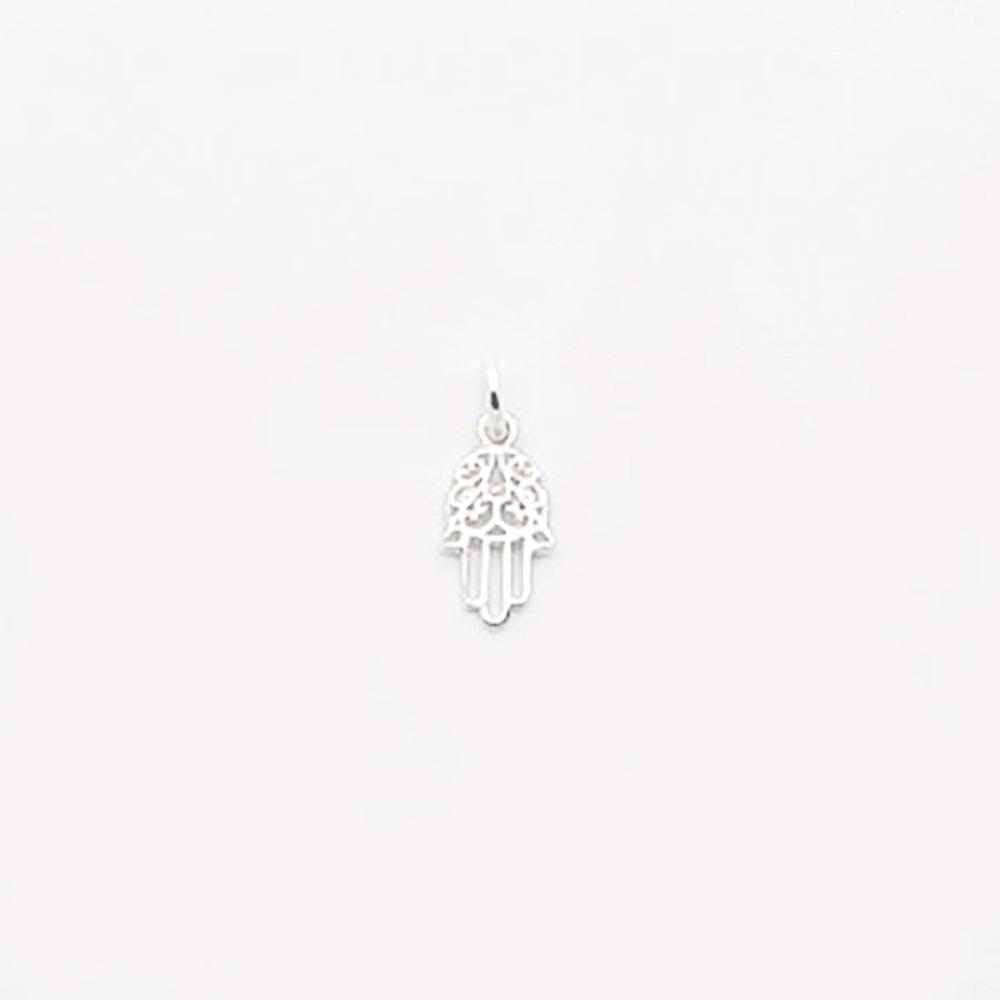 123home | Sterling Silver (925) Hamsa Pendant for Necklace