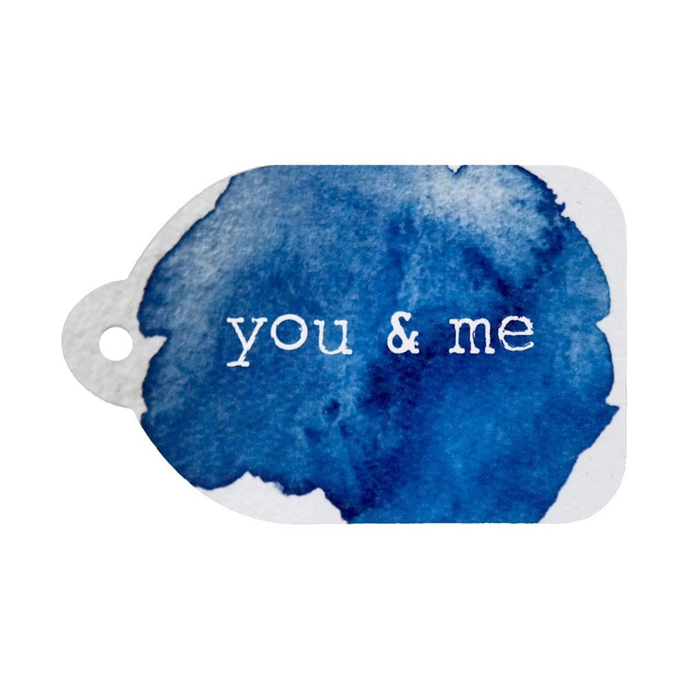 Rachel Kennedy Designs | You & Me Gift Tag