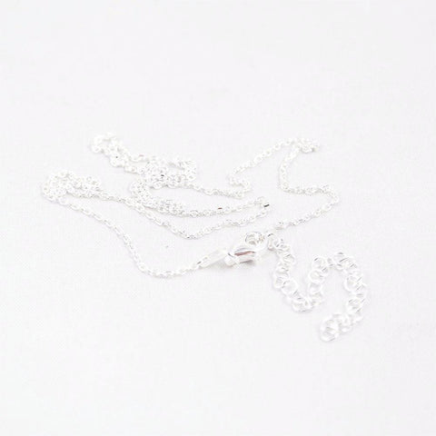 123home | Sterling Silver Chain 40cm