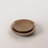 123home | Acacia Round Wooden Serving Plate