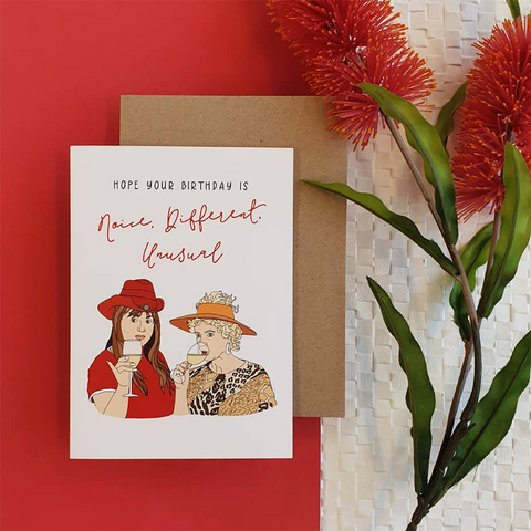 Candle Bark Creations | Kath and Kim Birthday Gift Card