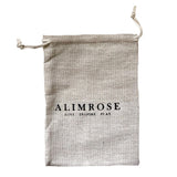 Alimrose Designs | Beechwood Silicone Teether Soother Rings Set Bag