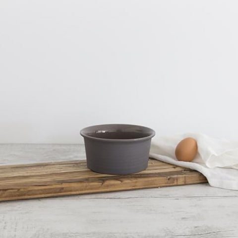Ivory House | Flax Ceramic Ramekin Bowl in Charcoal Grey