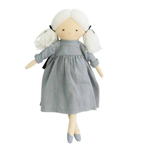 Alimrose Designs | Matilda Doll in Grey Dress